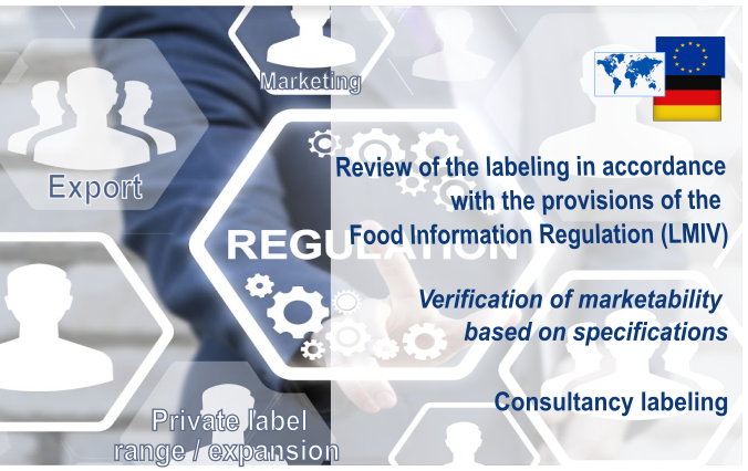 Our Labeling Services: Review, verification of marketability and consultancy labeling